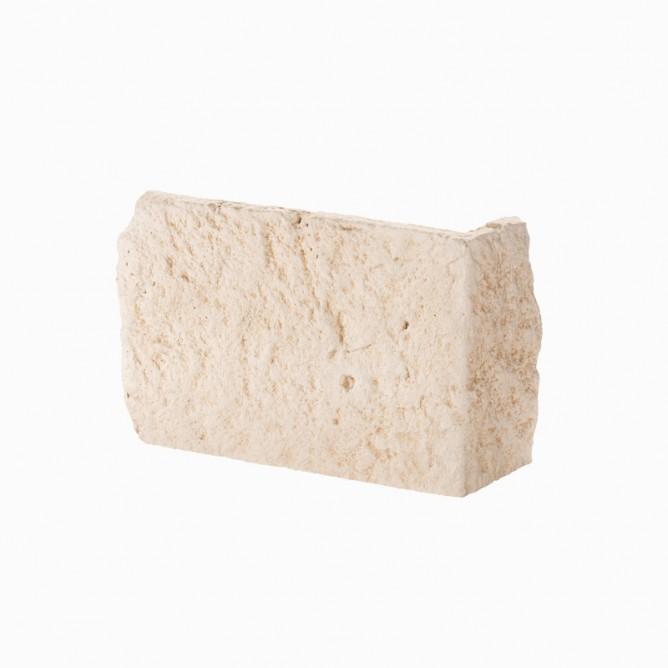 Angolari CAUSSE tonalità pietra H 25 cm