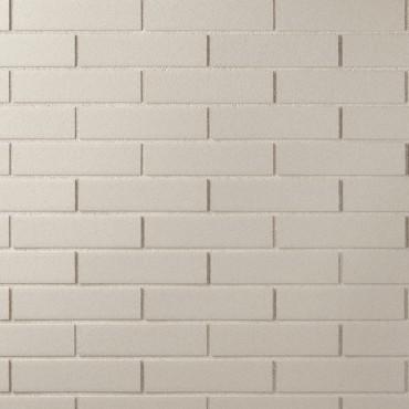 Campione mattone CHROMA liscio di colore bianco