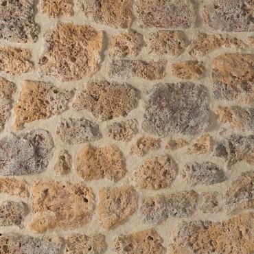 Pietra di MEULIÈRE tonalità meulière