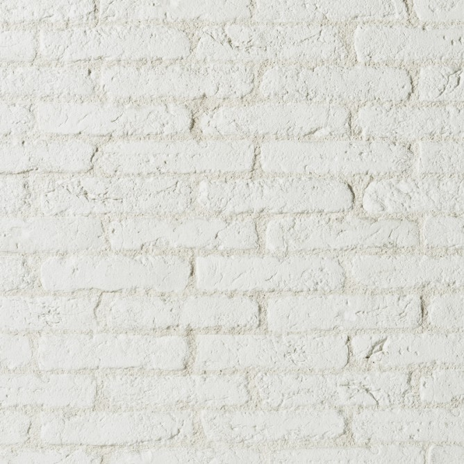 Rivestimento BRIQUE di colore bianco